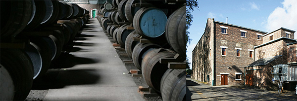 Glenkinchie Distillery Warehouse
