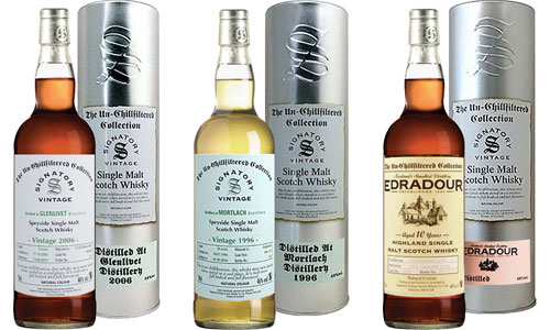Signatory The Un-Chillfiltered Whisky Collection