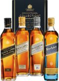 Johnnie Walker Whisky The Collection 4x 0,2 L Black-, Gold-, Platinum- & Blue Label