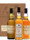 The Classic Malts COASTAL Collection 3x 0,2 L Beige Whisky Box