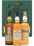 The Classic Malts STRONG Collection 3 x 0,2 L Grüne Whisky Box