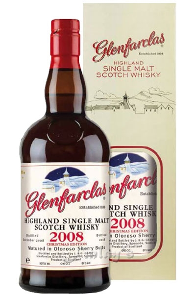 Glenfarclas Christmas Malt Edition 2008 - 2018 Whisky 0,7 L Matured in Oloroso Sherry Butts