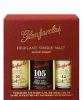 "Glenfarclas Probierpack 10, 12 Jahre und 105 Cask Strength ""Where the Secret lies"" 3x 0,05 L"