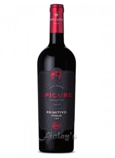Wein / Italien / Apulien / Epicuro Primitivo Puglia 2017 IGP Rotwein ...