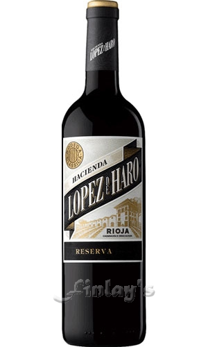 wein spanien hacienda lopez de haro rioja reserva 2013 rotwein 0 75 l. Black Bedroom Furniture Sets. Home Design Ideas