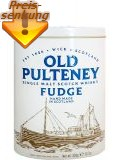 Fudge mit Old Pulteney Whisky in Blechdose 300 gr