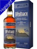 Benriach 22 Jahre Moscatel Wood Finish Whisky 0,7 L