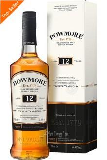 Bowmore 12 Jahre Whisky 0,7 L