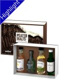 Peated Malts of Distinction Whiskey Set 4x 0,05 L Ardmore, Bowmore, Connemara, Laproaig